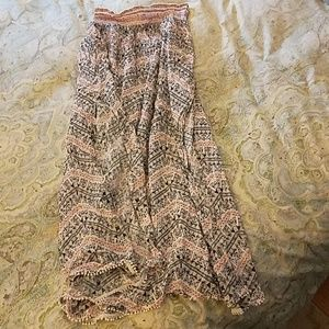 NWOT Victoria's Secret Maxi Skirt Cover up size M.